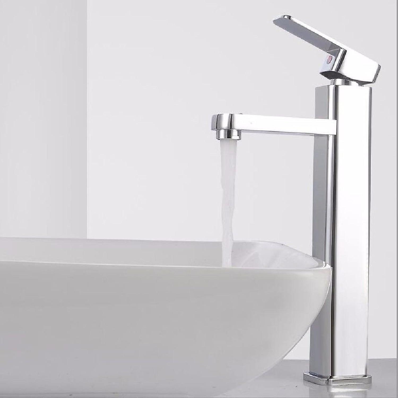 MNLMJ Moderne einfache kupferne heie und kalte Spülbecken Wasserhhne Küchenarmatur EinlochmontageKupfer heie und kalte Wasserhahn Waschbecken Wasserhahn Geeignet für alle Badezimmer-Spülbecken