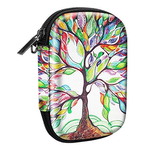 Fintie Tas voor HP Sprocket Fotoprinter Premium Kunstleer Gecoate Sterke Eva-hardschalen Fotoprinter Draagtas Case Cover Hoes Etui Bescherming voor HP Sprocket, (Z-Love Tree)