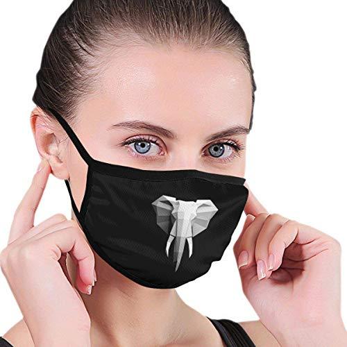 Olifant 3D Unisex Print Ademend Wasbaar Herbruikbare Neus -Cover Nek Verwarming Wrap Bouw Neusslijtage