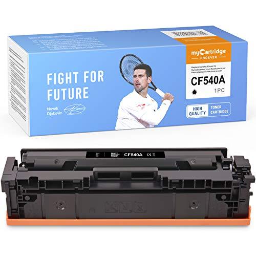 MyCartridge PHOEVER tóner Negro Compatible para HP 203A CF540A 203X para HP Color Laserjet Pro MFP M281fdw M254dw M254nw M281fdn M280nw M254dn M281 M254 M280
