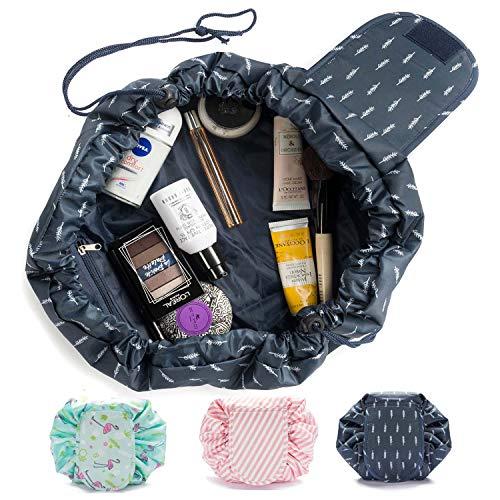 GOODS+GADGETS Kosmetiktasche, Kosmetikbeutel Quick Make-Up Beutel Schmink-Tasche Kulturtasche mit Kordelzug
