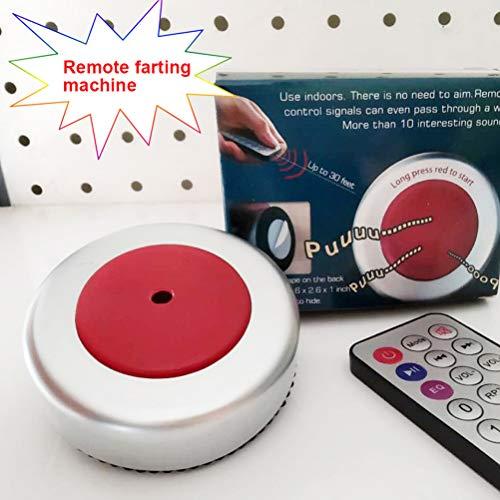 CoURTerzsl Furz Maschine, lustige Neuheitenmaschine mit Fernbedienung,, Ferngesteuerte Furzmaschine für Kostümzubehör