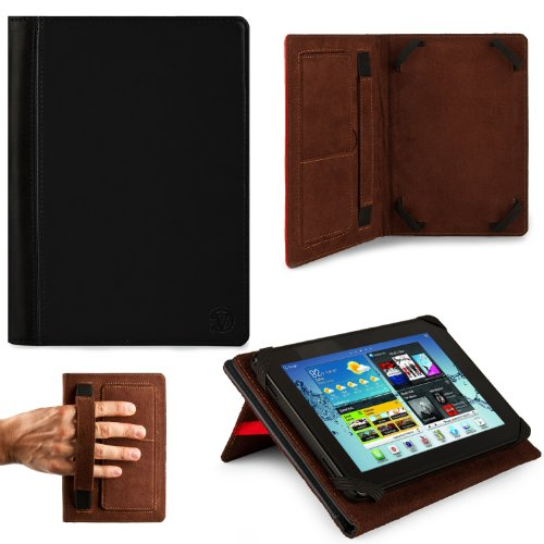 Deluxe Executive Portfolio For Datawind UbiSlate 7C+, 7Ci, 7Cx, 9Cx, 7Cz, 3G7 7-inch Tablet
