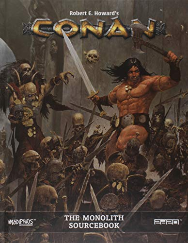Conan the Monolith Conan RPG Supp., Full Color, Hardback