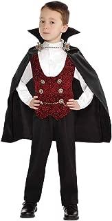 Kids Toddler Boys Vampire of Darkness Halloween Costume 2-4T,4-6,8-10,12-14