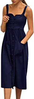 しあわせ宜蘭女性の春と夏のストラップレスのソリッドカラーのドレスワンピースレディースレトロドレス