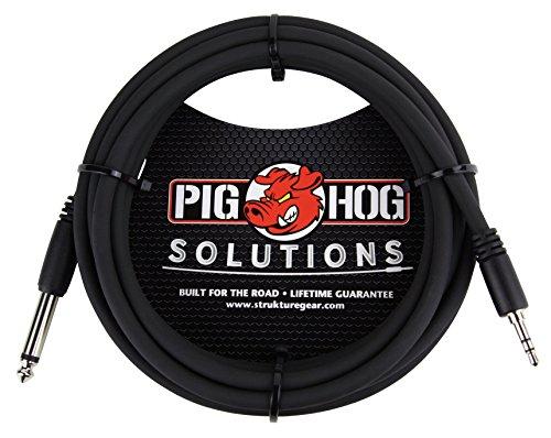 Pig Hog px-35t4m 1/20,3cm TRS auf 1/4in Mono Kabel, 10ft