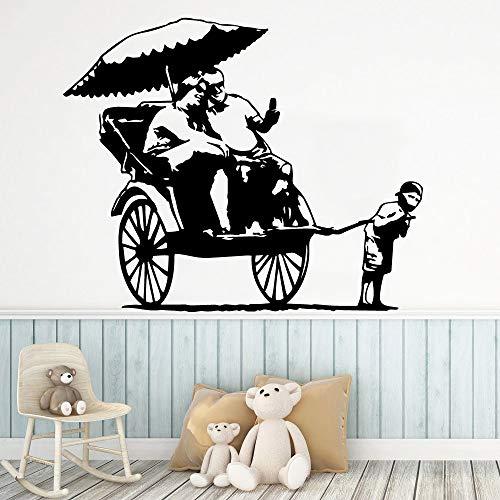 Tianpengyuanshuai Paar en jongen muur sticker muursticker muurschildering waterdichte muur decal kamer huisdecoratie
