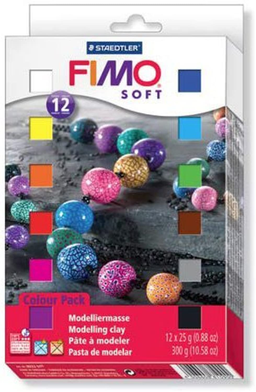 FIMO Fimo Soft Materials verpacken 12 Farben 802301LJ