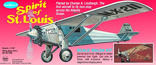 Guillows G807 Spirit of St.Louis (Balsa Kit)