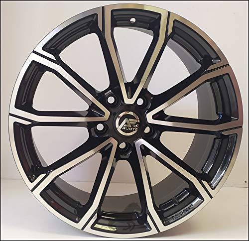 1 Rolling Llantas de Aleación NAD 7 18 5X108 42 65,1 Compatible Con Peugeot 308 508 407 3008 5008 Hecho en Italia