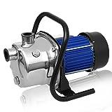 Hurbo 1.6HP Portable Stainless Steel Lawn Sprinkling Pump Water Pump...