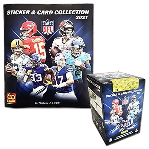 Panini NFL 2021 Sticker & Trading Cards - Box-Bundle