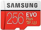 Samsung microSDXC カード 256GB EVO+ Class10 UHS-I U3対応 最大読込速度 100MB/s MB-MC256G アダプターなし [並行輸入品] …
