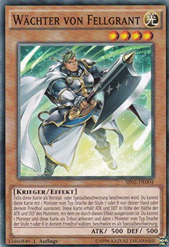 SR02-DE004 - Wächter von Fellgrant - Common - Yu-Gi-Oh - Deutsch - 1. Auflage - LMS Trading