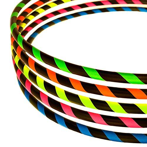 Hula Hoop Reifen für Anfänger, Ø100cm, Neon-Blau