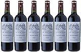 Château Le Coteau CV Chappaz Mdc France Bordeaux Vin Rouge AOP Margaux 75 cl - Lot de 6