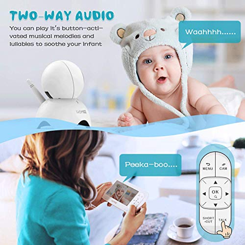 51s6PeamBLL The Best Video Baby Monitors with Smartphone Apps 2021