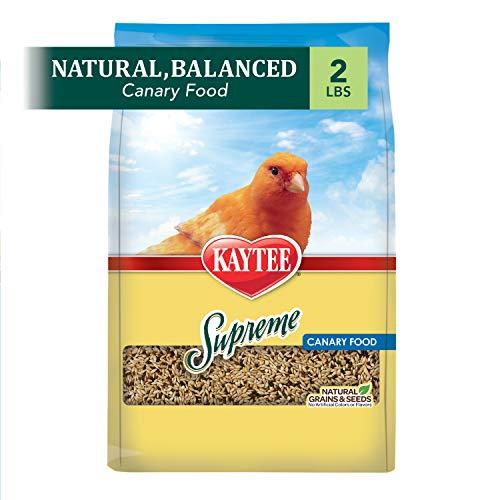 Kaytee Supreme Bird Food For Canaries, 2-Lb Bag