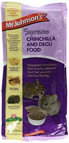 Mr Johnson's Supreme Chinchilla and Degu Pet Food, 900 g