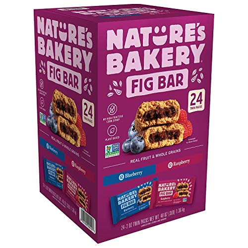 Nature's Bakery Stone Ground Whole Wheat Fig bar 24 Twin Pack 24 - 2oz