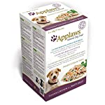 Applaws Natural Dog Food, Multipack, Finest Collection,In Jelly Pouch, 100g (Total Pack of 20) 25
