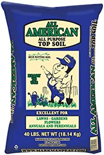 Markman Peat Company 200 Top Soil, 40 lb