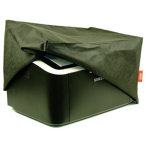 ROTRi® Funda Antipolvo a Medida para Impresora Brother DCP-L2520DW - Negro