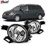 Winjet Compatible with Nissan [2004-2006 Quest] [2005-2006 Altima] Driving Fog Lights + Switch + Wiring Kit