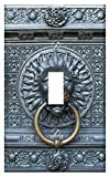 Switch Plate Single Toggle - Lion Cologne Cathedral Entrance Door Gothic