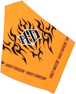 Coastal Harley-Davidson Pet Bandanna Orange 30