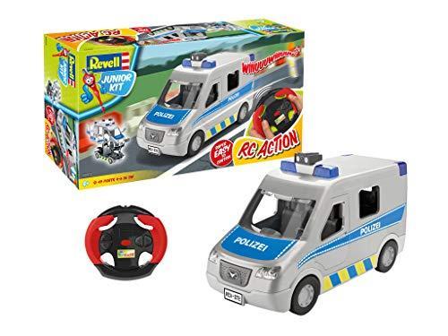 Revell Control 00972 Politie auto met RC-chassis en GHz-afstandsbediening voertuig, zilver