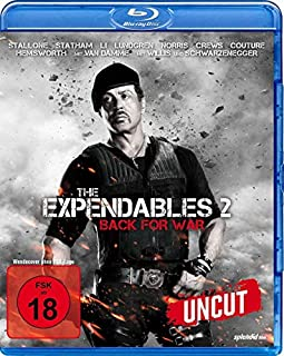 The Expendables 2 - Back For War - Uncut Version [Blu-ray]