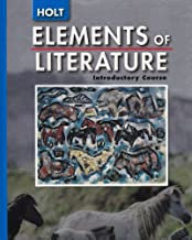 Elements of Literature: Student Ediiton Introductory Course 2005
