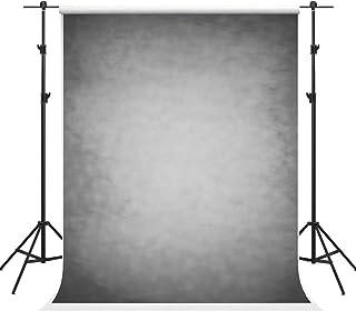 Grau schwarzer Abstrakter Fotohintergrund, Textur, Mikrofaser, Alter Master, Grauer Hintergrund, professionelle Kopfaufnahmen, Portrait, Stoff, Fotostudio Requisiten, schwarz, 6.5×10ft