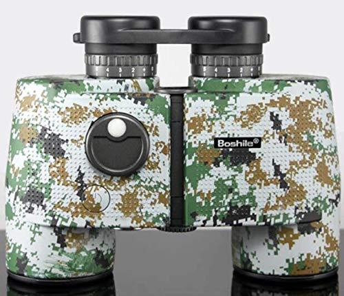 Binoculares, cámara prismáticos Impermeables, HD 7X50 visión Nocturna con brújula Telescopio...