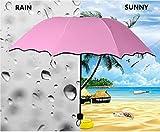 Skyfish Blossom Compact Foldable Umbrella (Multi-Color)
