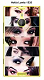 ONOZO Phone Case Nokia Lumia 1520 Design Women Sexy Eyes