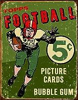 Topps 1956フットボールティンサイン