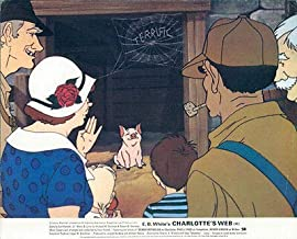 Charlotte's Web 1973 Original Lobby Card British Hanna-Barbera Cartoon Animation