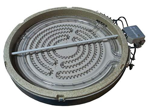 Universeel - keramische kookplaat halogeen 230 mm 2200 W.