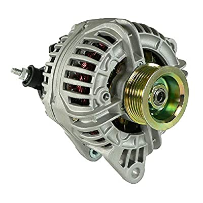 DB Electrical ABO0217 New Alternator For Jeep 4.0L 4.0 Grand Cherokee 01 02 03 2001 2002 2003 56041322Ab 1-2422-01BO 400-24020 0-124-525-003 13872 AR100785