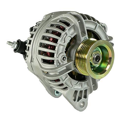 DB Electrical ABO0217 New Alternator For Jeep 4.0L 4.0 Grand Cherokee 01 02 03 2001 2002 2003 56041322Ab 1-2422-01BO 400-24020 0-124-525-003 13872 AR100785