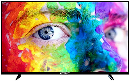 Foxsky 101.6 cm (40 inches) Full HD Smart LED TV 40FS (Black) (2021 Model)   With Voice Assistant