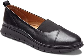 Vionic Women's Linden Slip-on - Ladies Walking Loafer with Concealed Orthotic Support