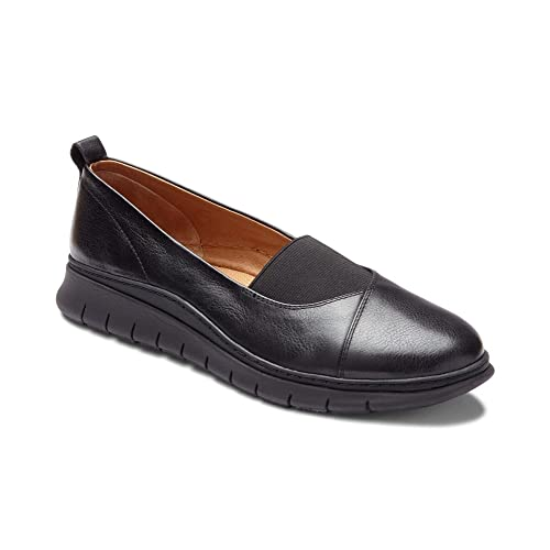 0ea05e32639 Vionic Women s Linden Slip-on - Ladies Walking Loafer with Concealed  Orthotic Support