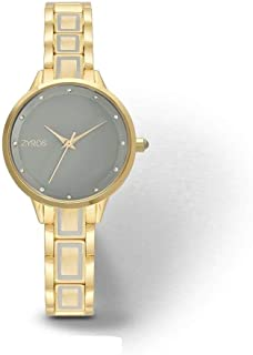 Zyros Casual Watch For Women Analog Metal، ZAA013L010104Y