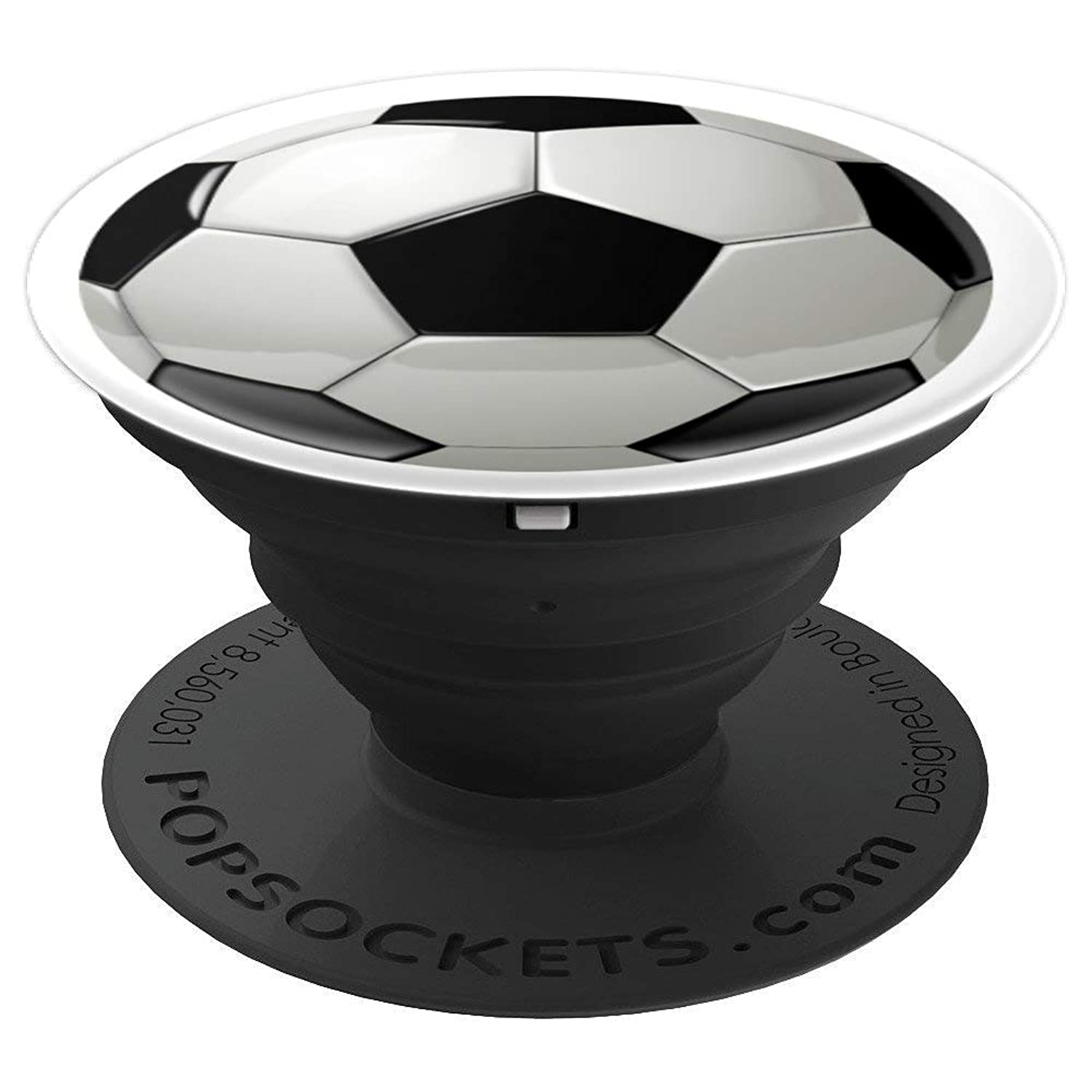 Soccer Football Player Gift Ideas: Soccer Ball - PopSockets Grip and Stand for Phones and Tablets