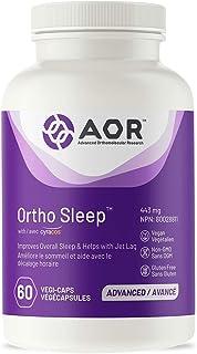 AOR - Ortho Sleep 60 Capsules - Improves Overall Sleep & Helps with Jet Lag