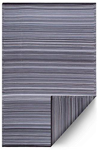 FAB HAB Cancun - Midnight Alfombra/tapete para Interiores y Exteriores (90 cm x 150 cm)